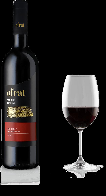 Efrat Israëli wijn Dry Red