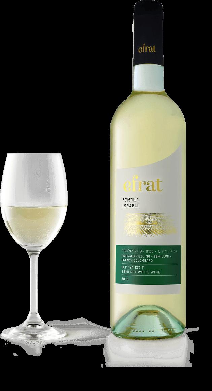 Efrat Israëli wijn Semi dry white